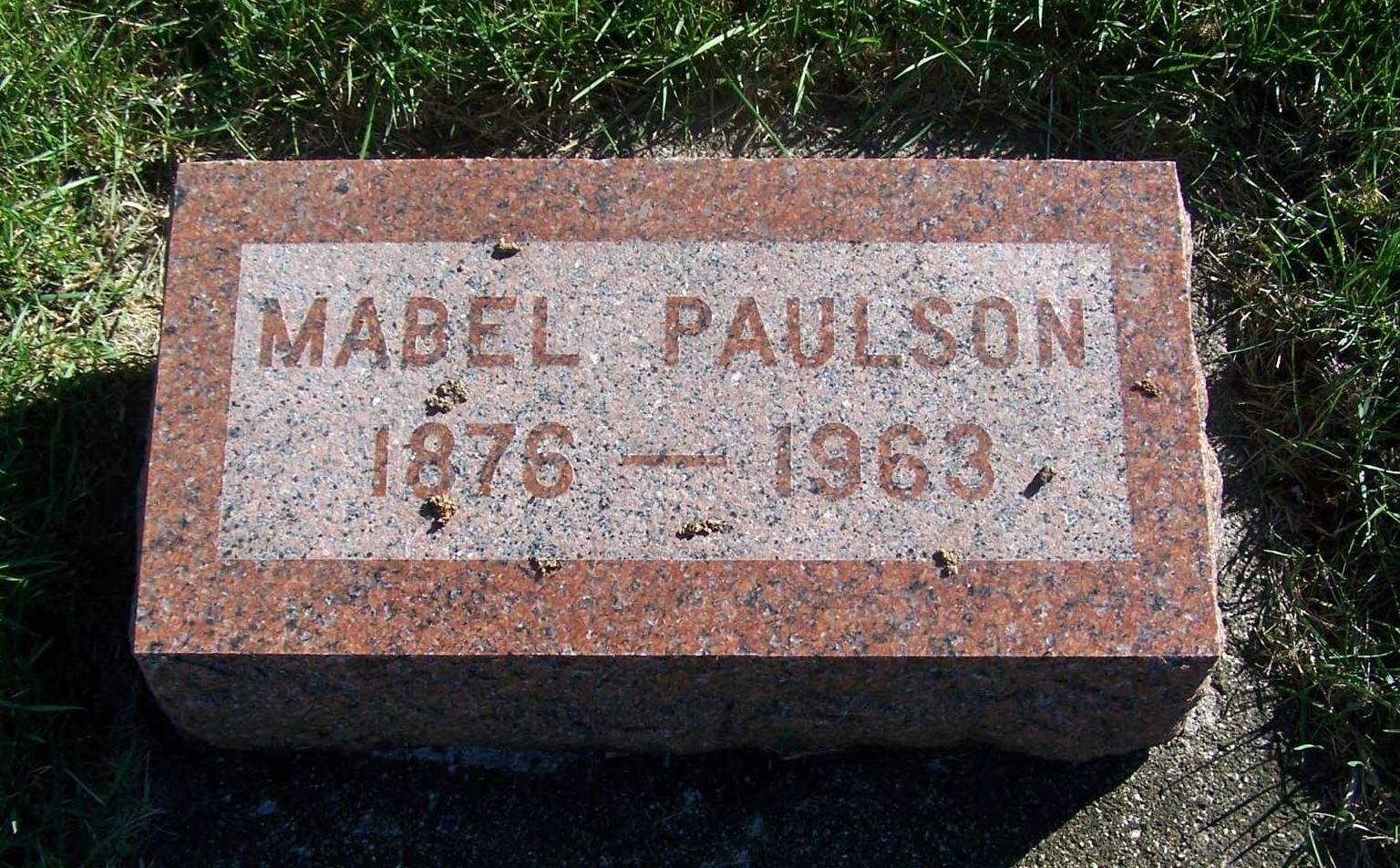 Mabel Gertrude Paulson