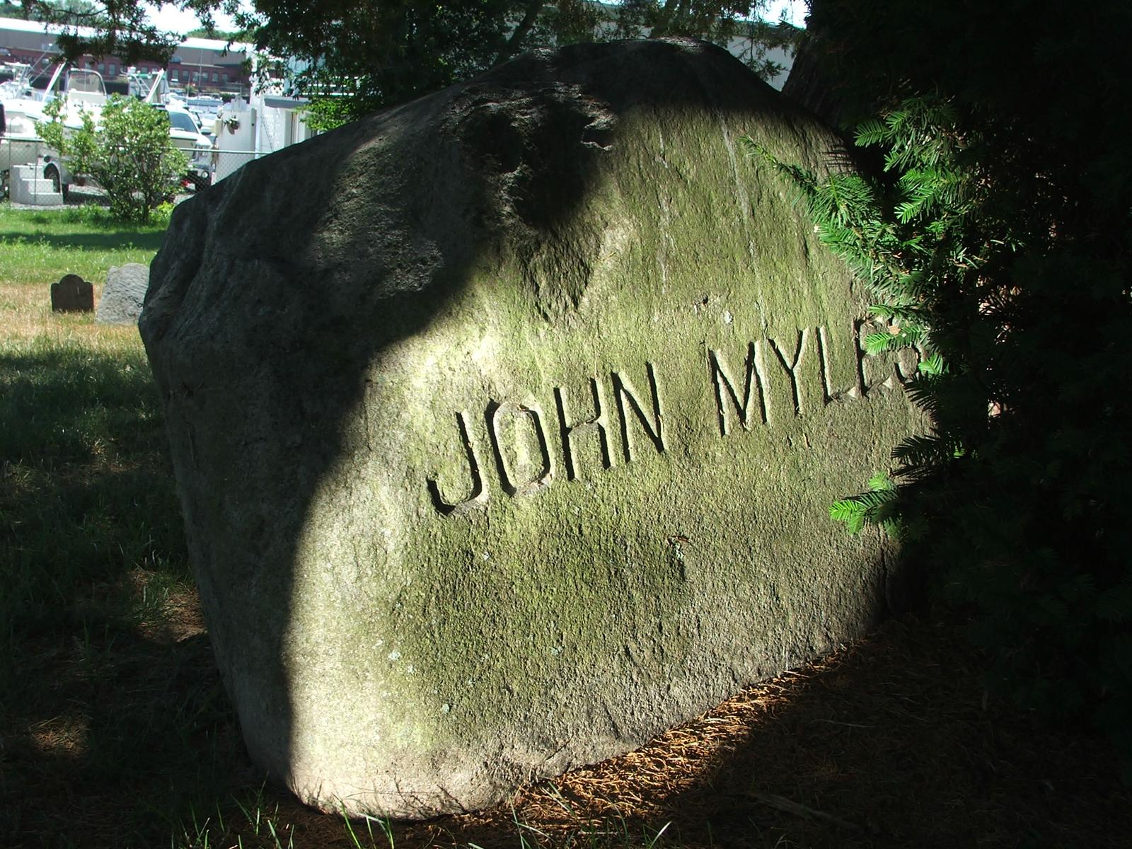 Rev John Myles