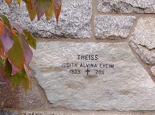 Judith Alvina <i>Eheim</i> Theiss