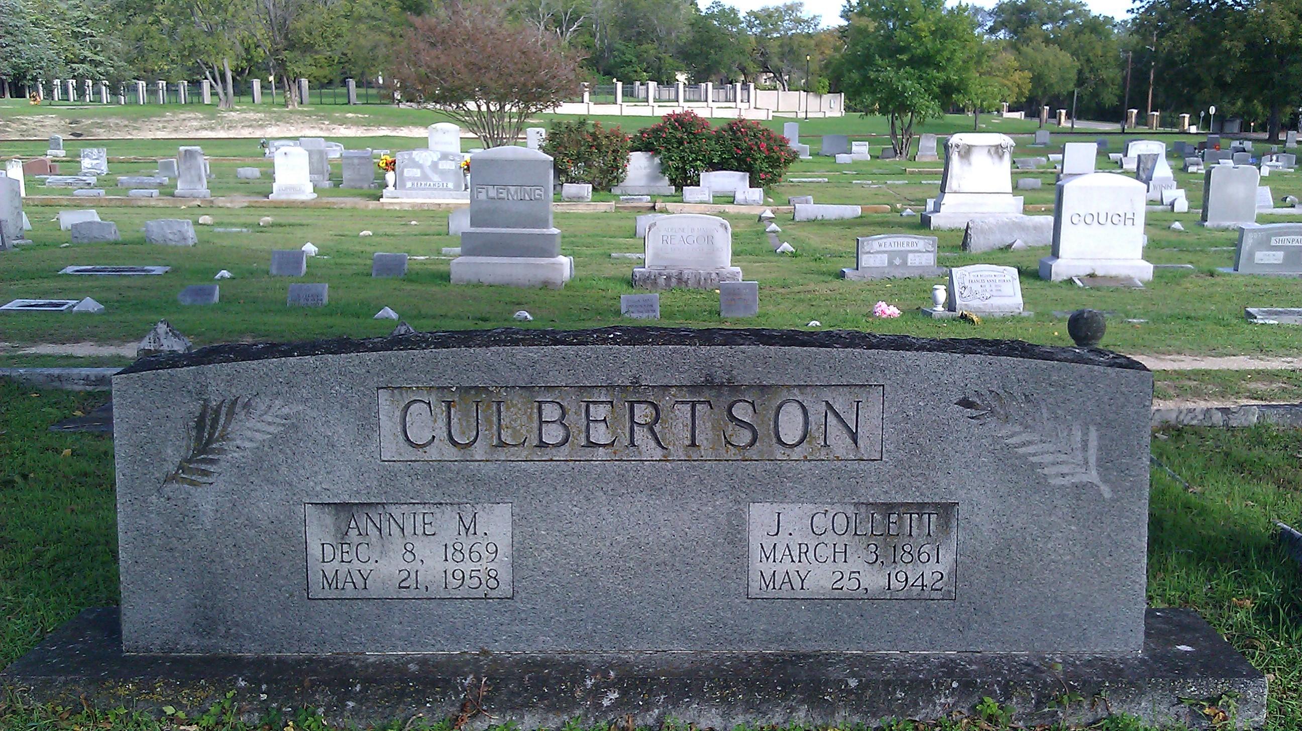 Anna May <i>Akin</i> Culbertson