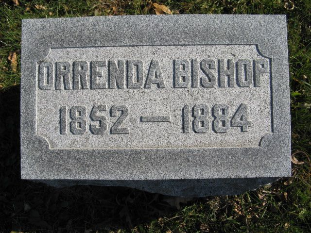 Orrenda W <i>Phelps</i> Bishop