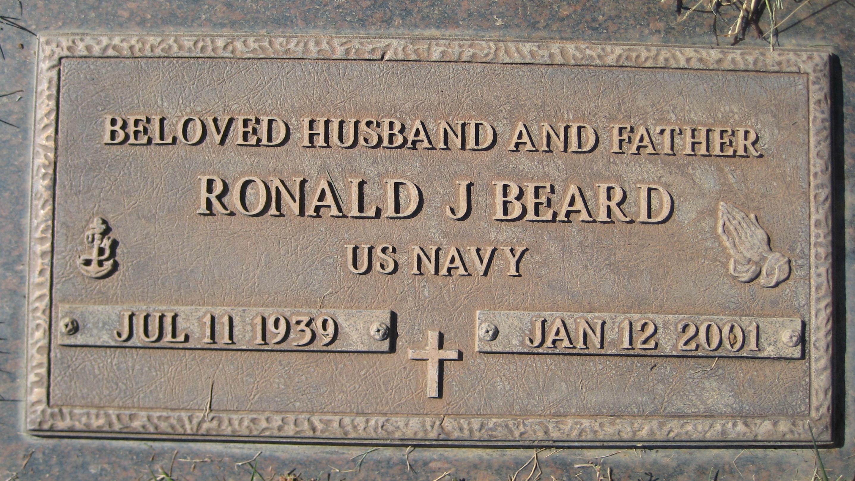 Ronald J Beard