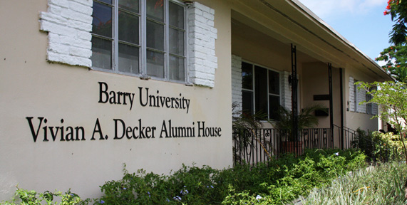 Vivian A. Decker Alumni House