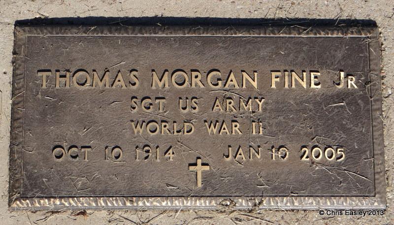 Thomas Morgan Tommy Fine