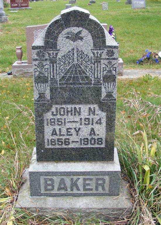 Aley Ann Rhoda <i>Stockwell</i> Baker