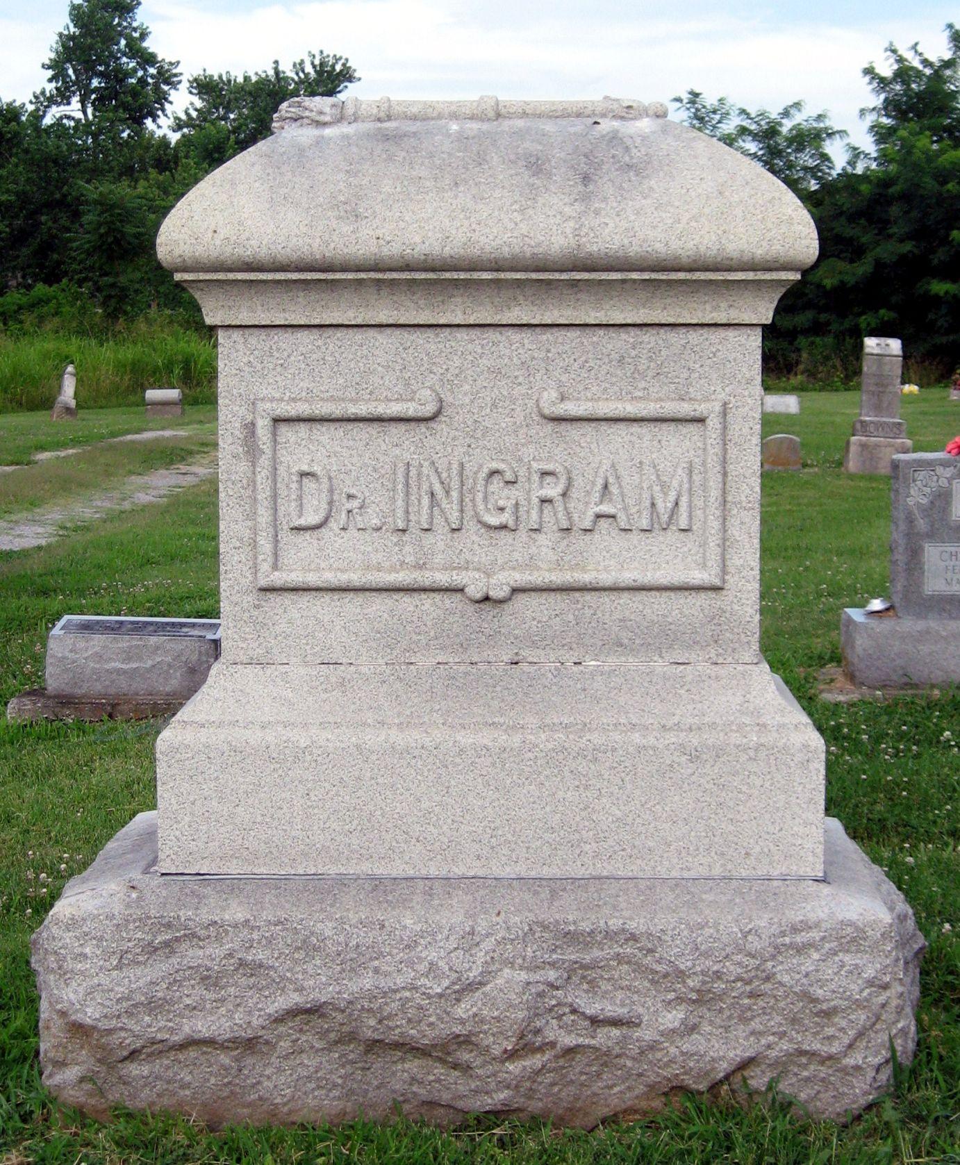 Dr William Taliaferro Ingram