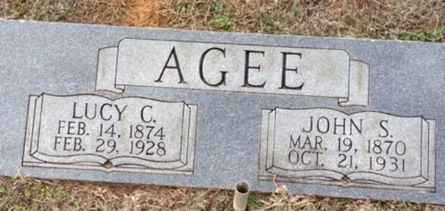 Lucy Cornelia Lucy <i>Ward</i> Agee
