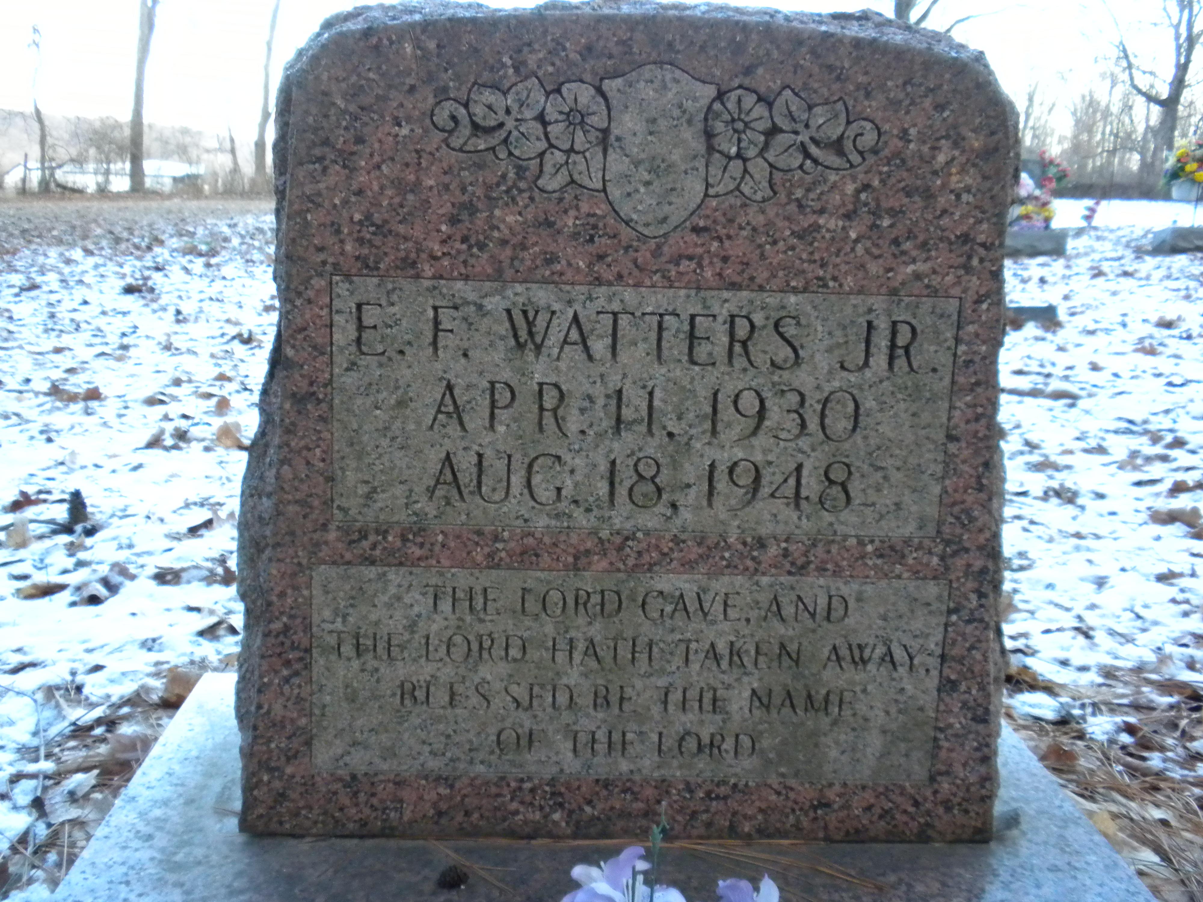 Ezra Franklin Watters, Jr