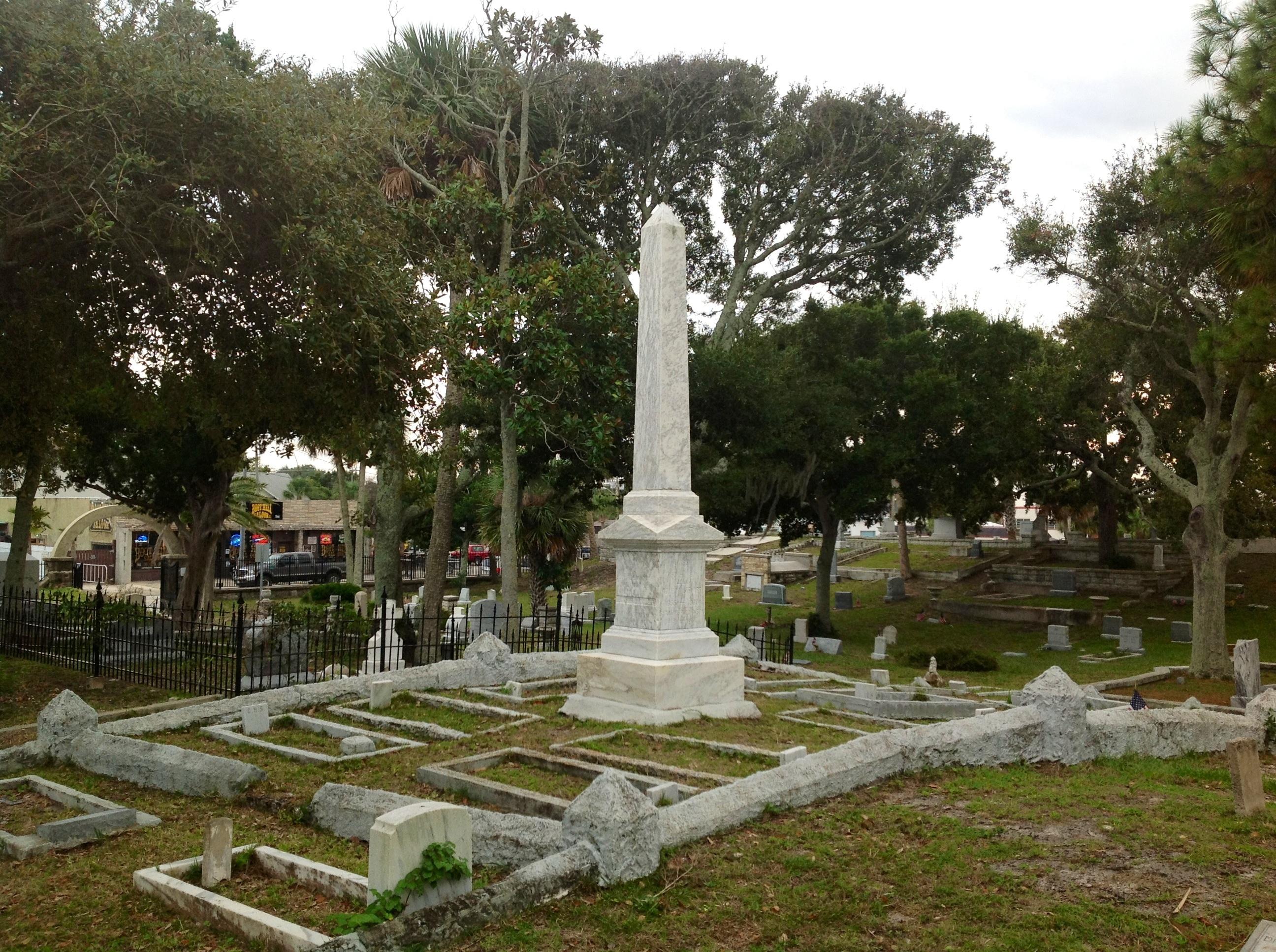 Pinewood Cemetery In Daytona Beach