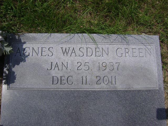 Agnes <i>Wasden</i> Green