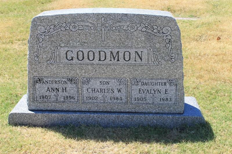 Ann H Goodmon