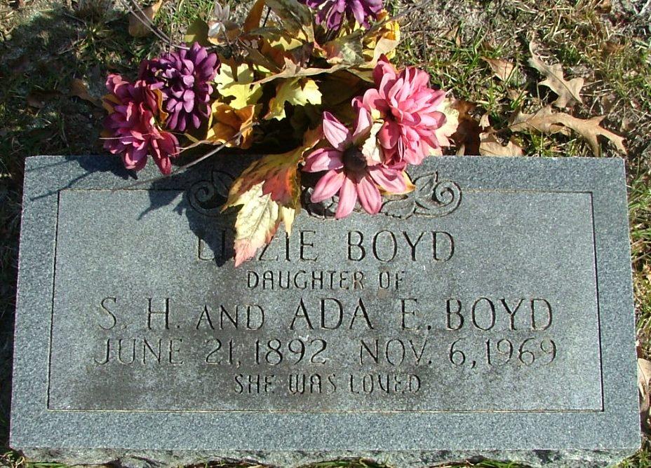 Sara Elizabeth Lizzie Boyd