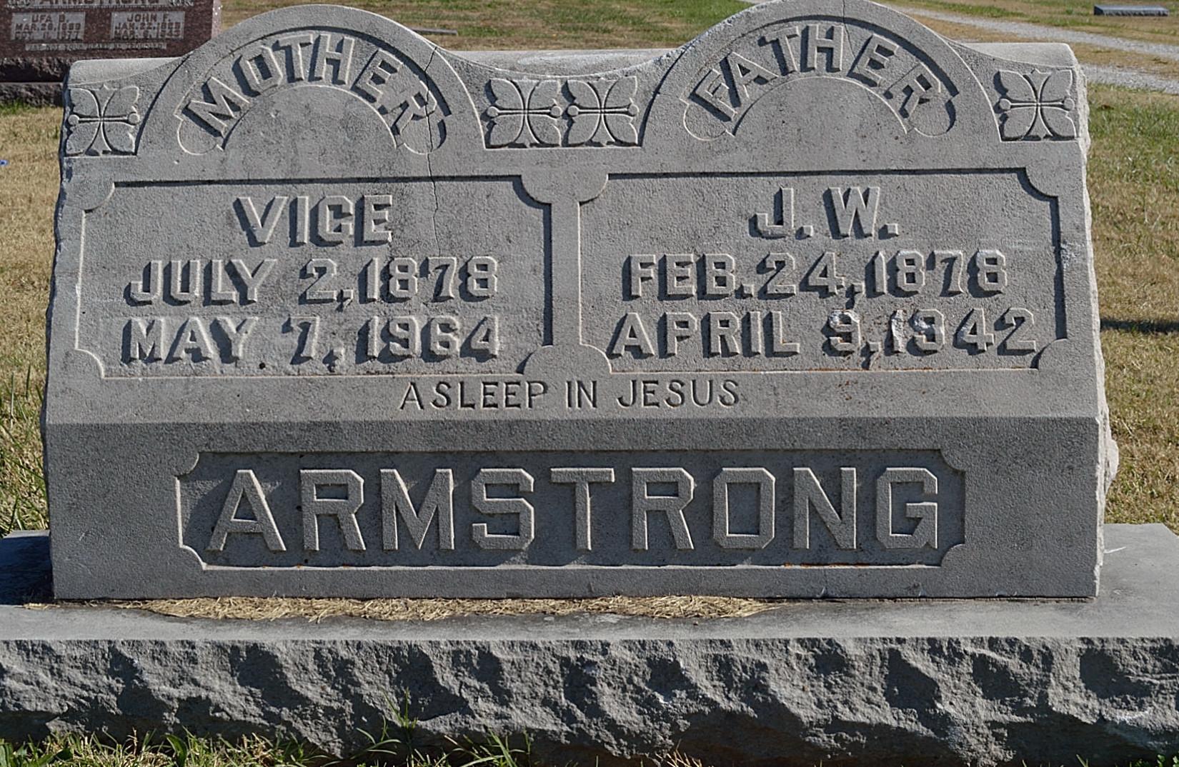 Sina Lavisa Vice Armstrong