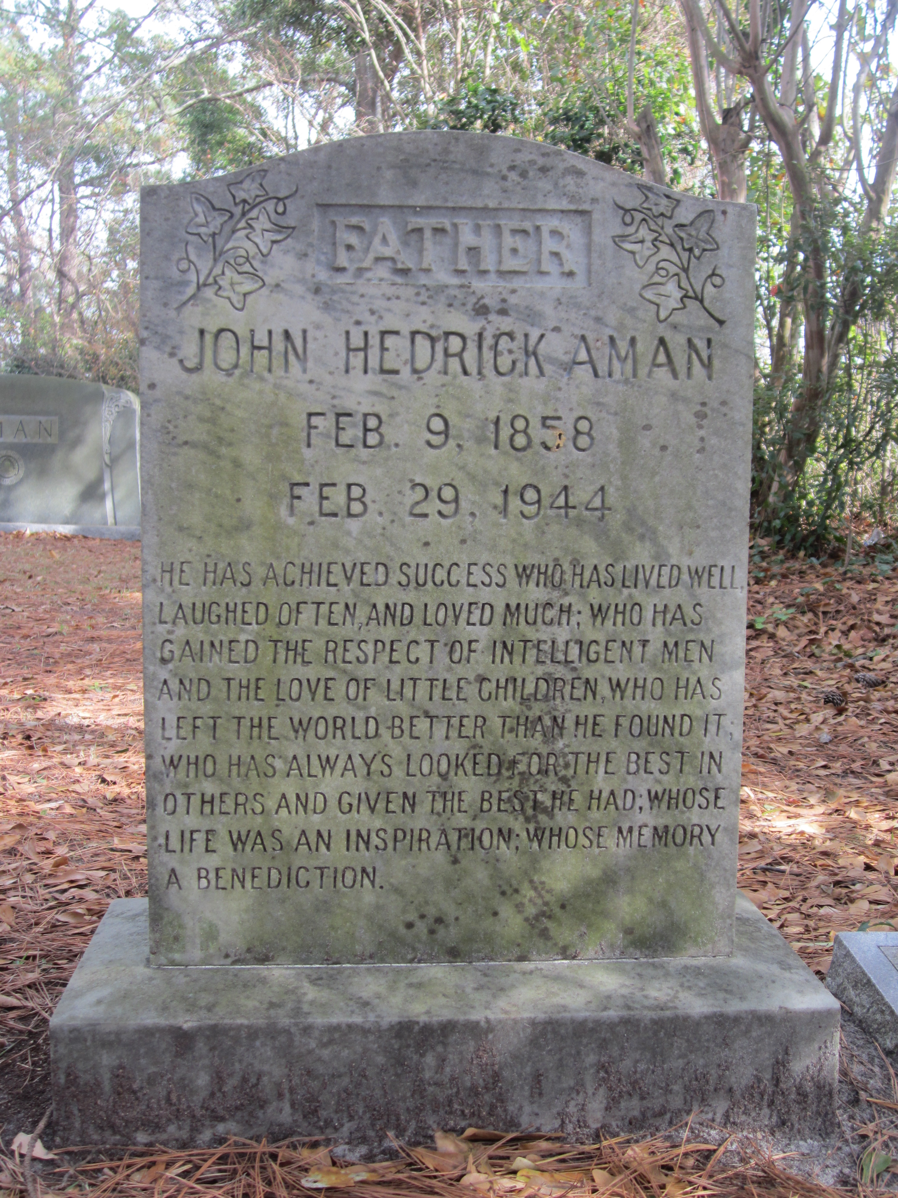John Hedrick Aman