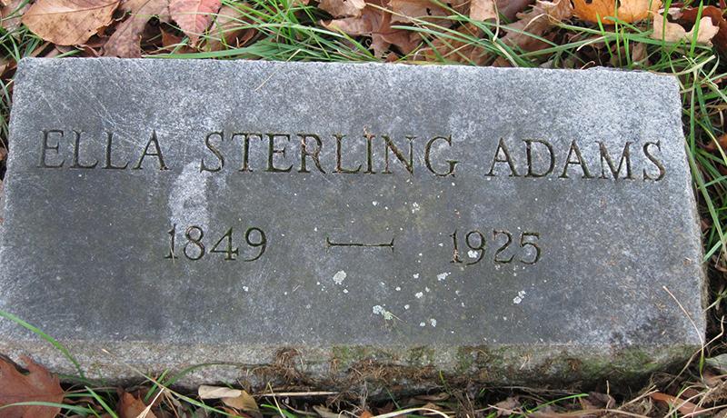Ella Lundie <i>Sterling</i> Adams