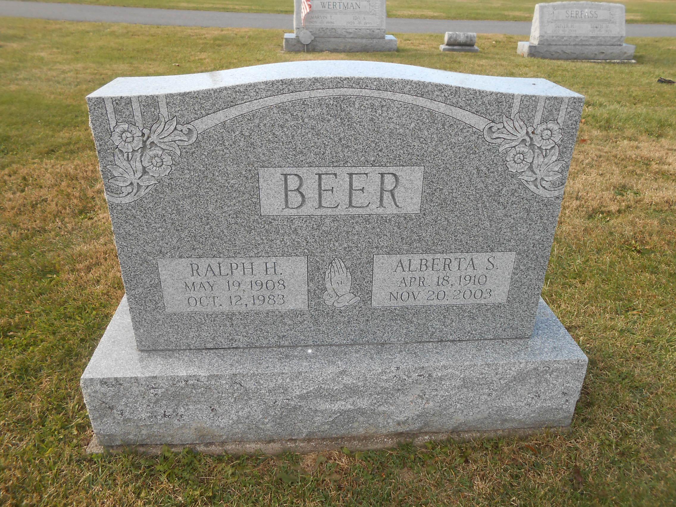 Alberta S. <i>Buck</i> Beer