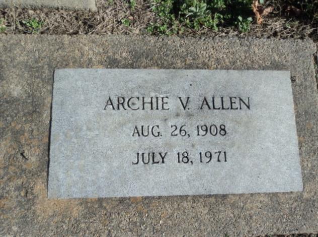 Archie V Allen