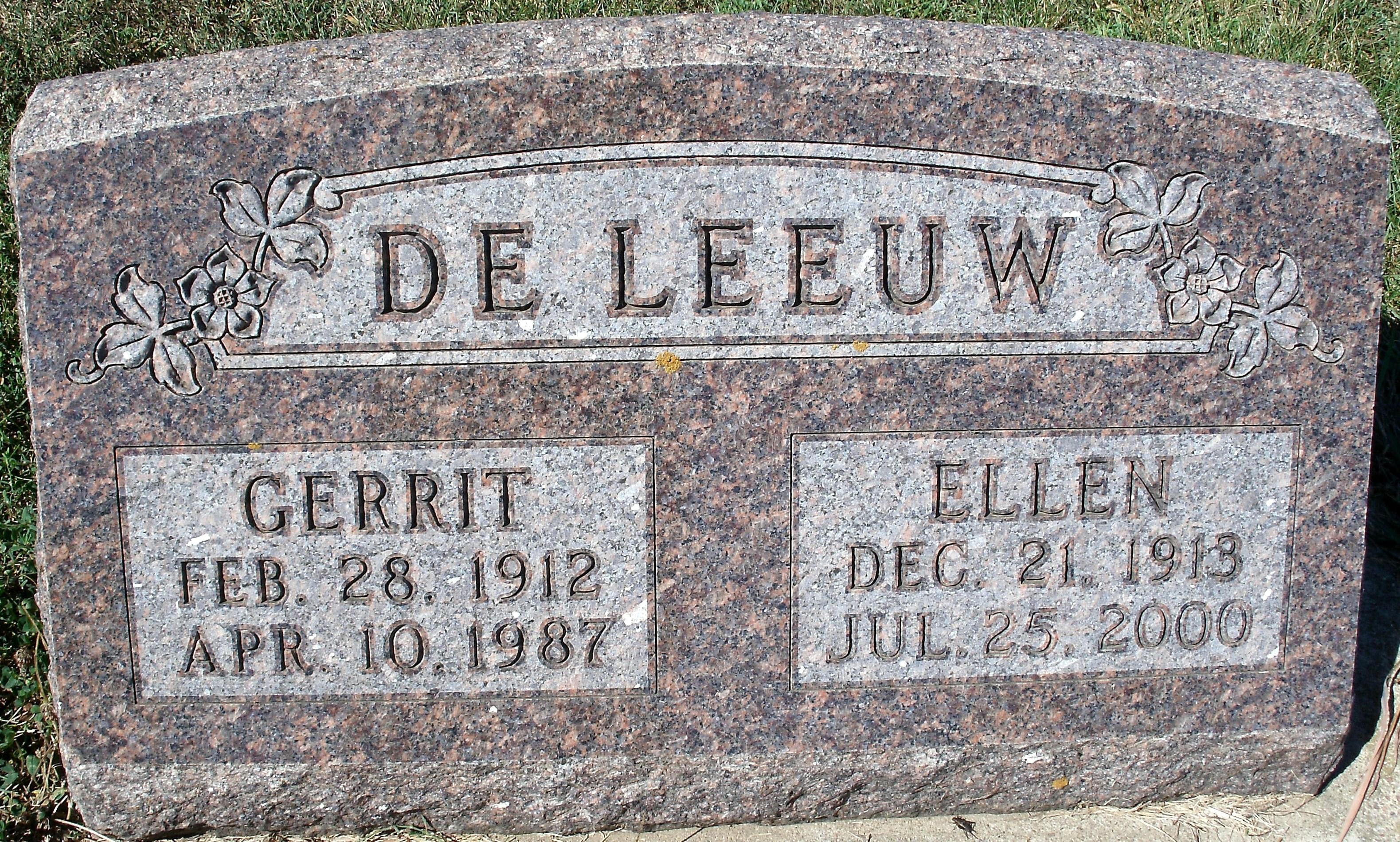 Gerrit De Leeuw