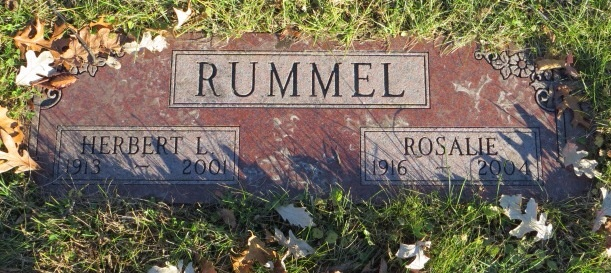 Rosalie <i>Helwer</i> Rummel