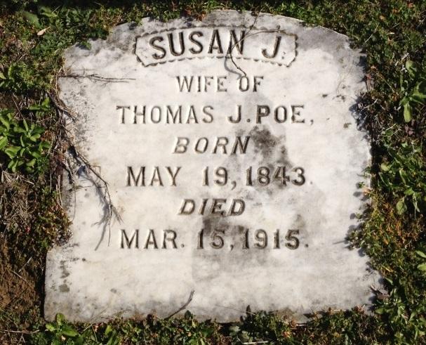 Susan M. <i>Johnson</i> Poe