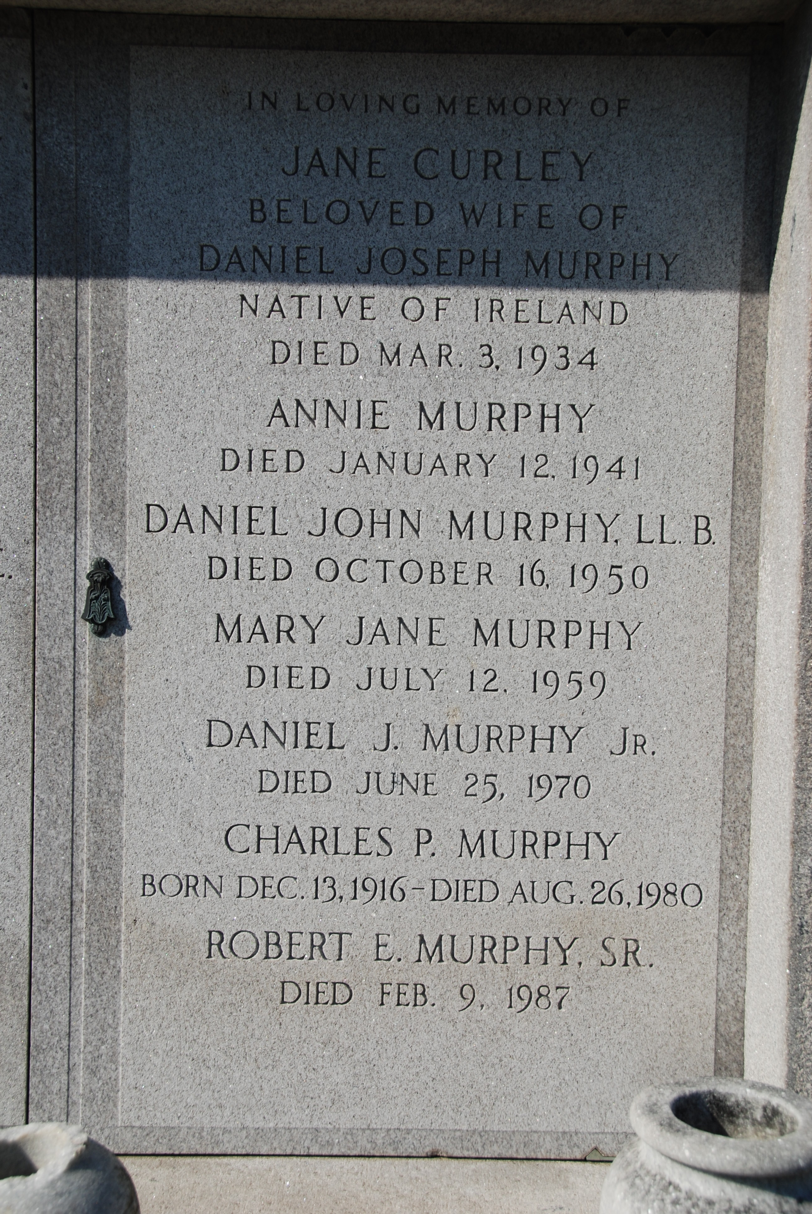 Mary Jane Murphy (Unknown-1959) - Find A Grave Memorial