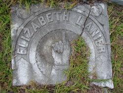 Mary Ann Elizabeth <i>Shuman</i> Lanier