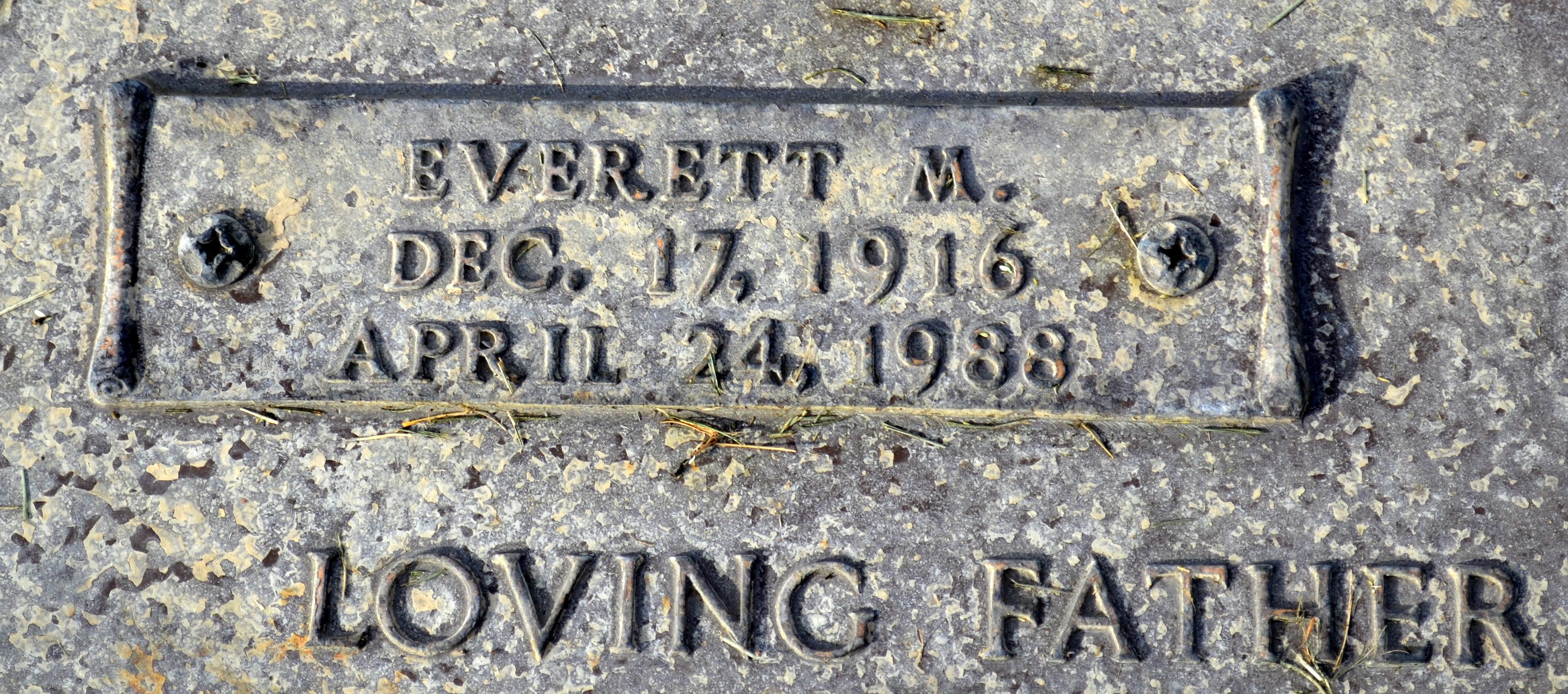 Everett M. Adams