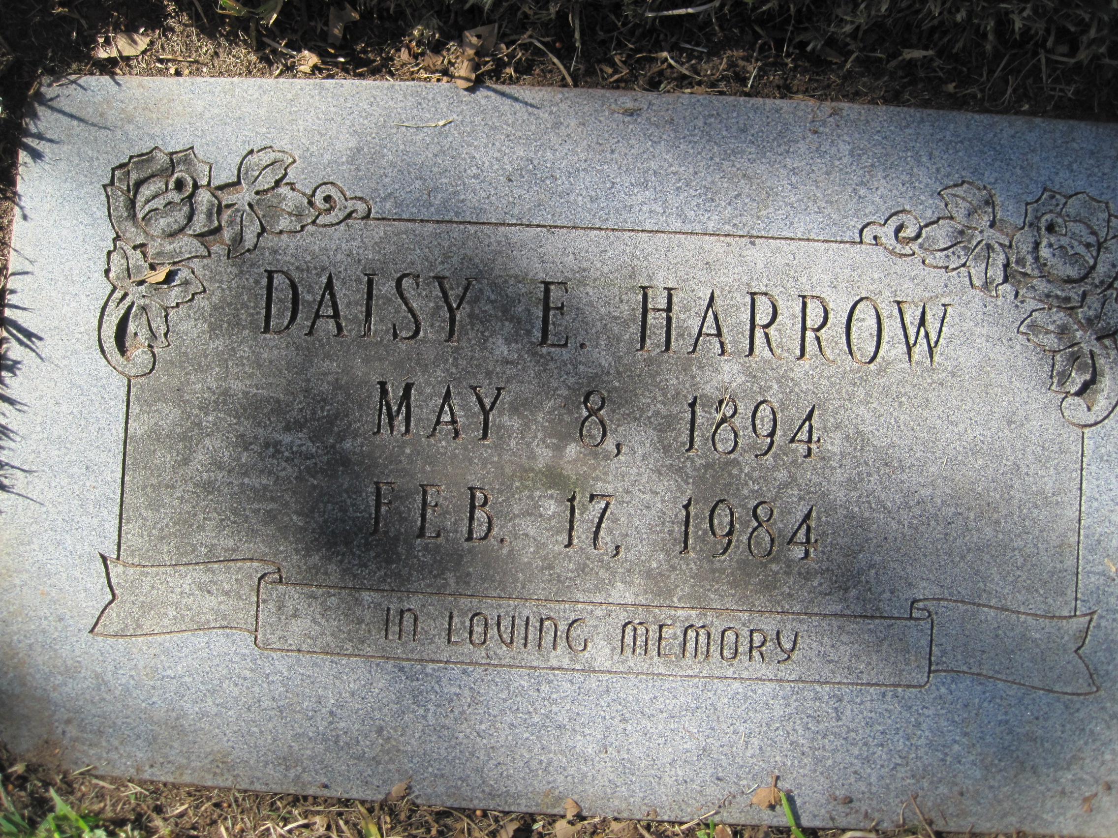 Daisey Ethel <i>Braden</i> Harrow