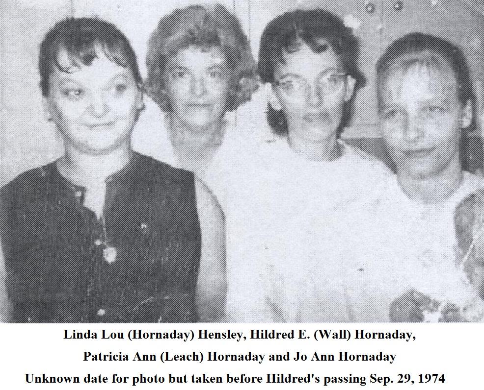 Patricia Ann <i>Leach</i> Hornaday