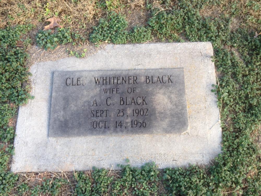 Cleo Elise <i>Whitener</i> Black