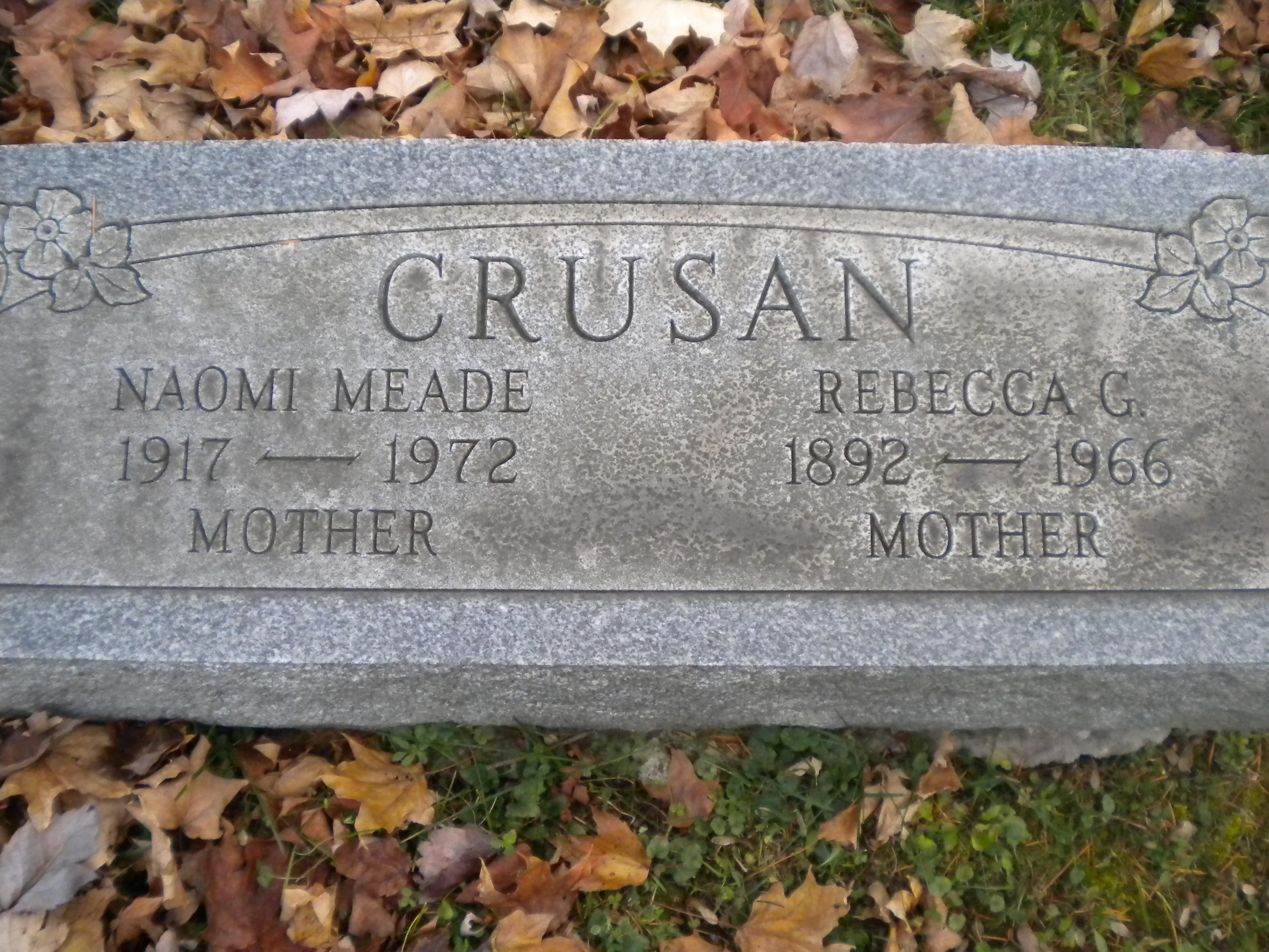 Mrs Naomi Rebecca <i>Crusan</i> Bornschlegel