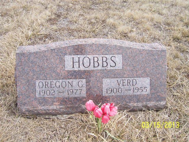 Oregon Grace <i>Grabill</i> Hobbs