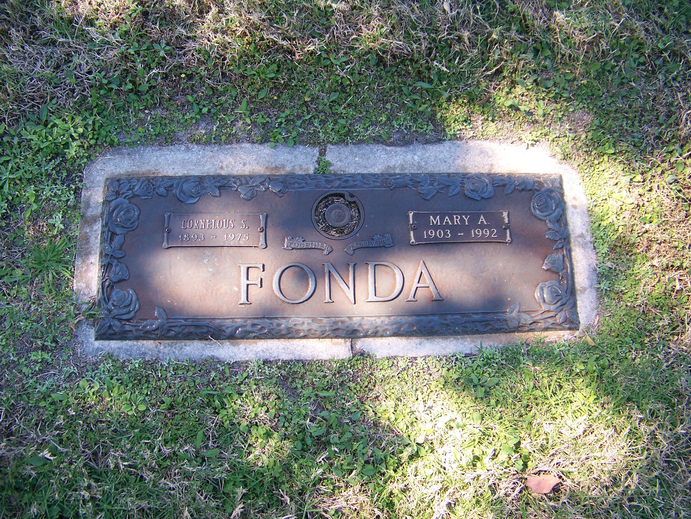 Mary A Fonda