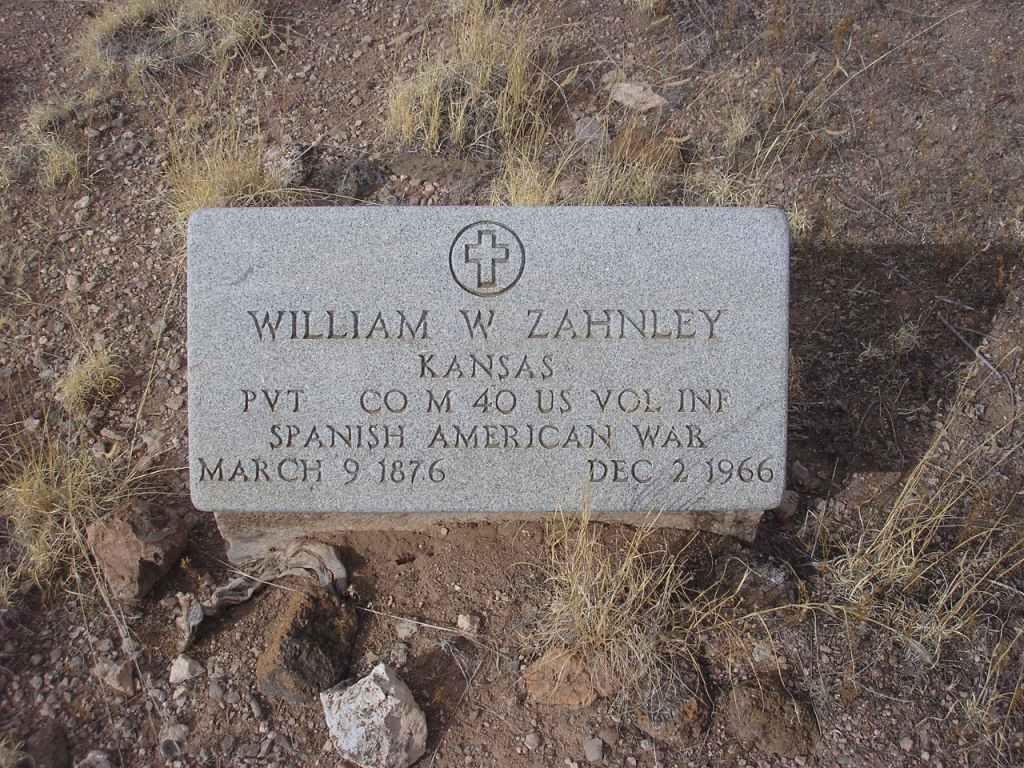 William W Zahnley