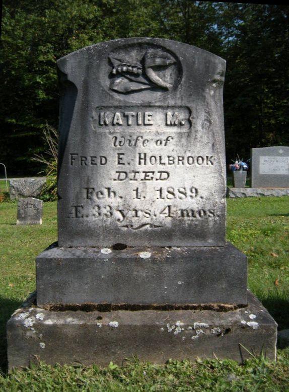 Katie M. <i>Richards</i> Holbrook