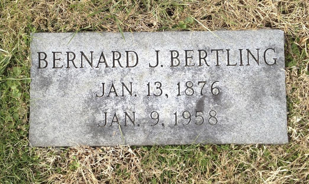 Bernard Joseph Bertling