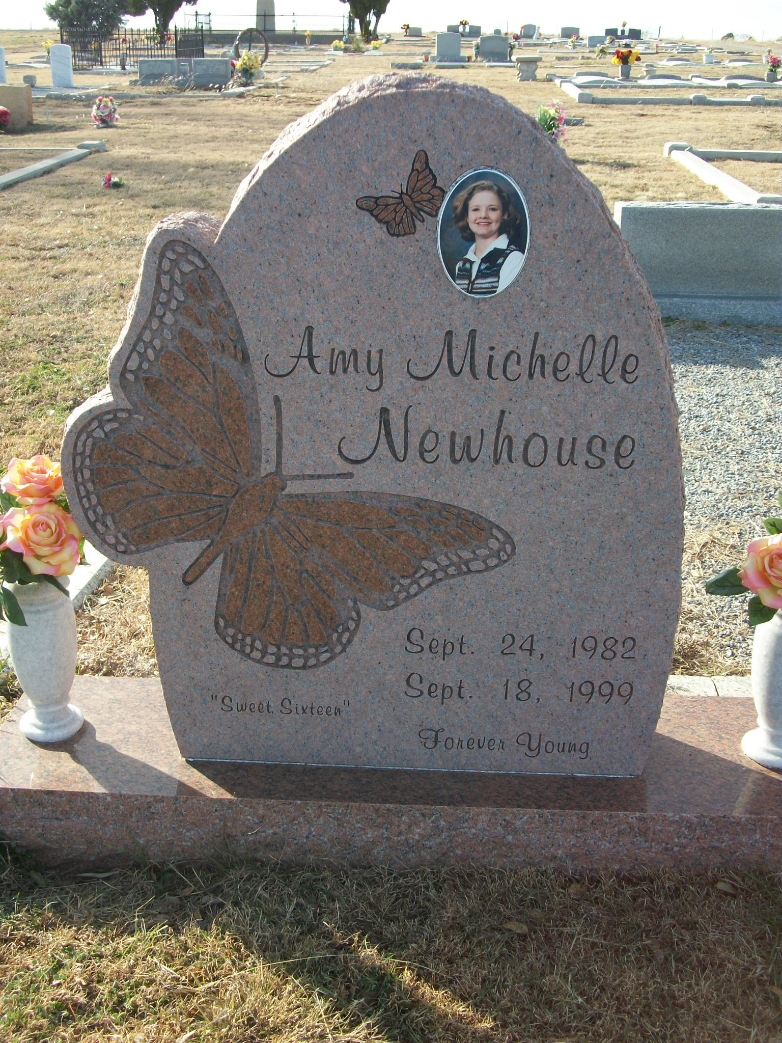 Amy Michelle Newhouse 1982 1999 Find A Grave Memorial