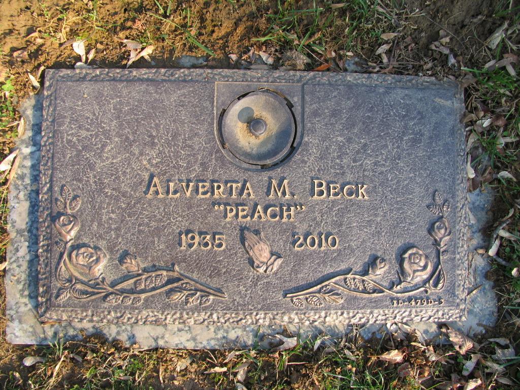 Alverta M Peach <i>Ness</i> Beck