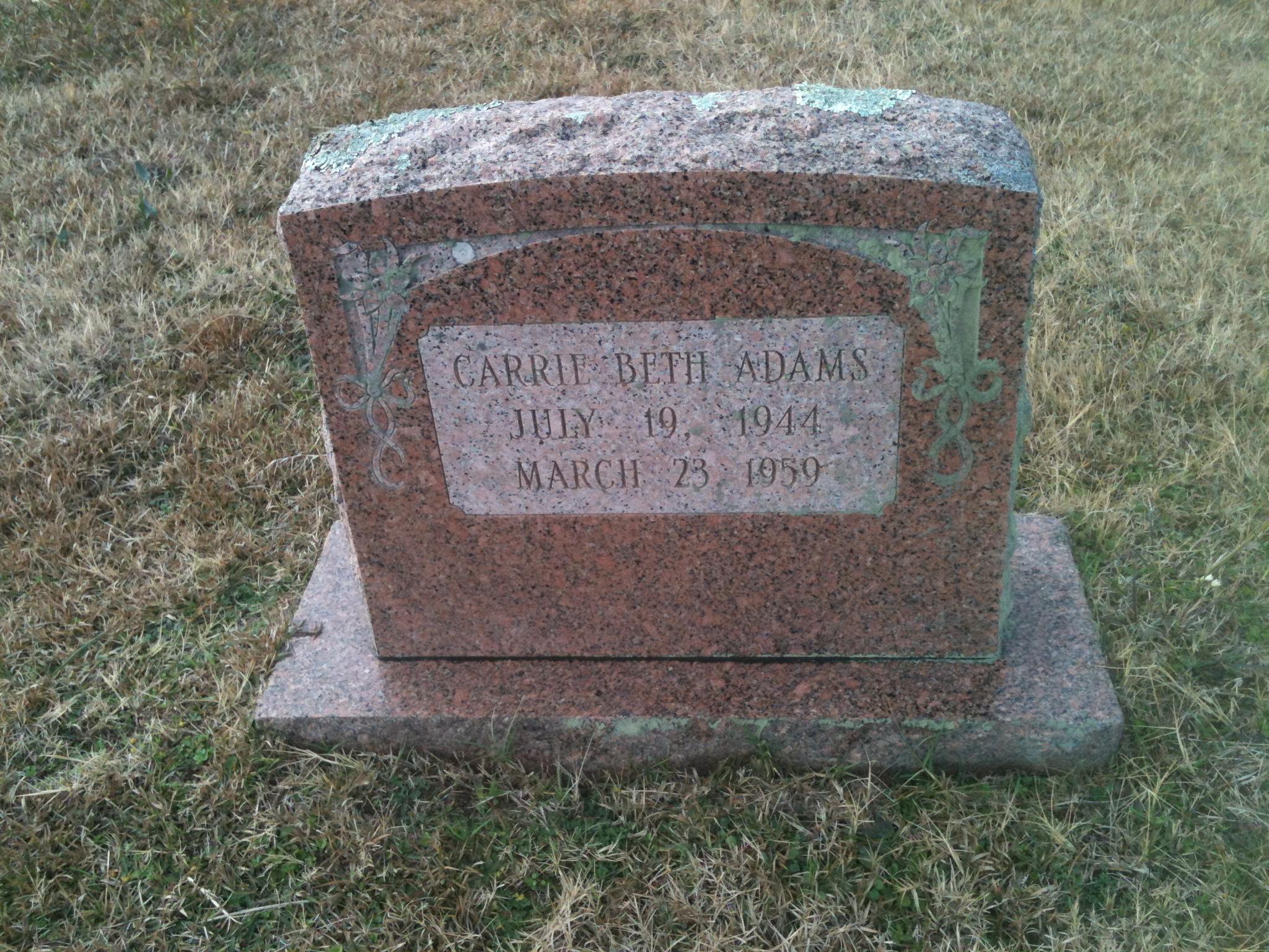 Carrie Beth Adams