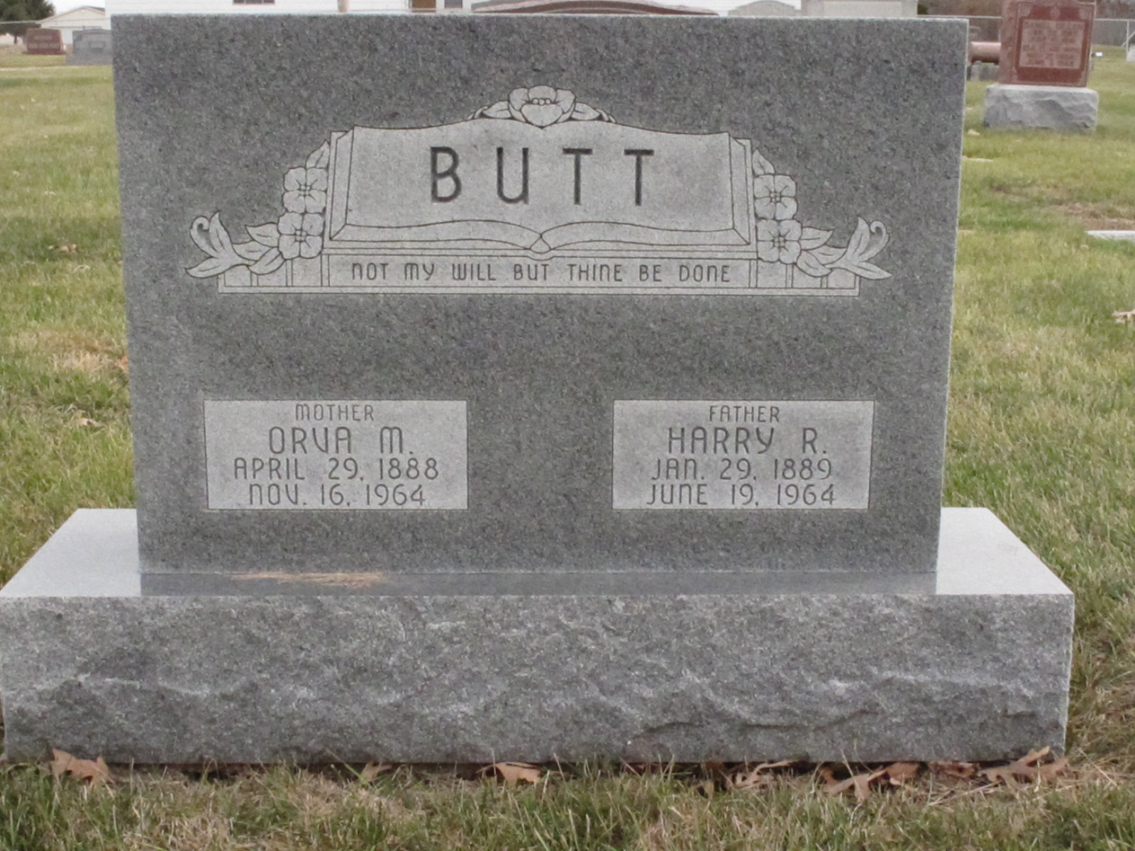 Orva May <i>Garrison</i> Butt