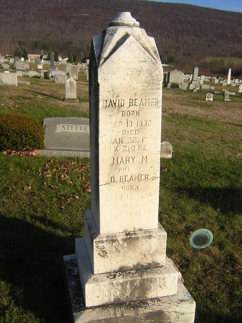 Pvt David B. Beamer