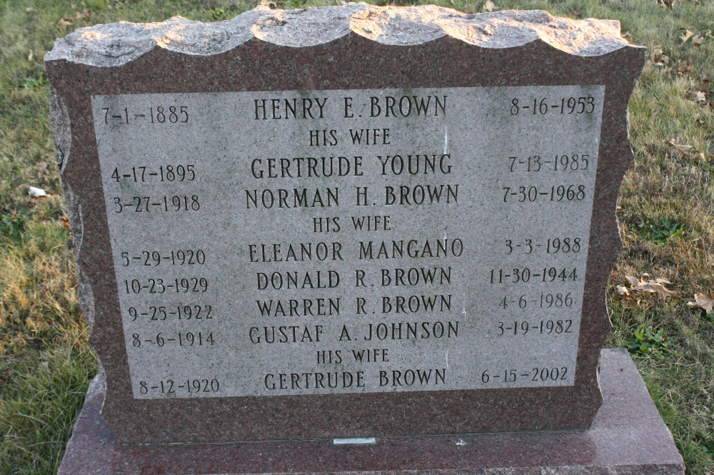 Gertrude <i>Young</i> Brown