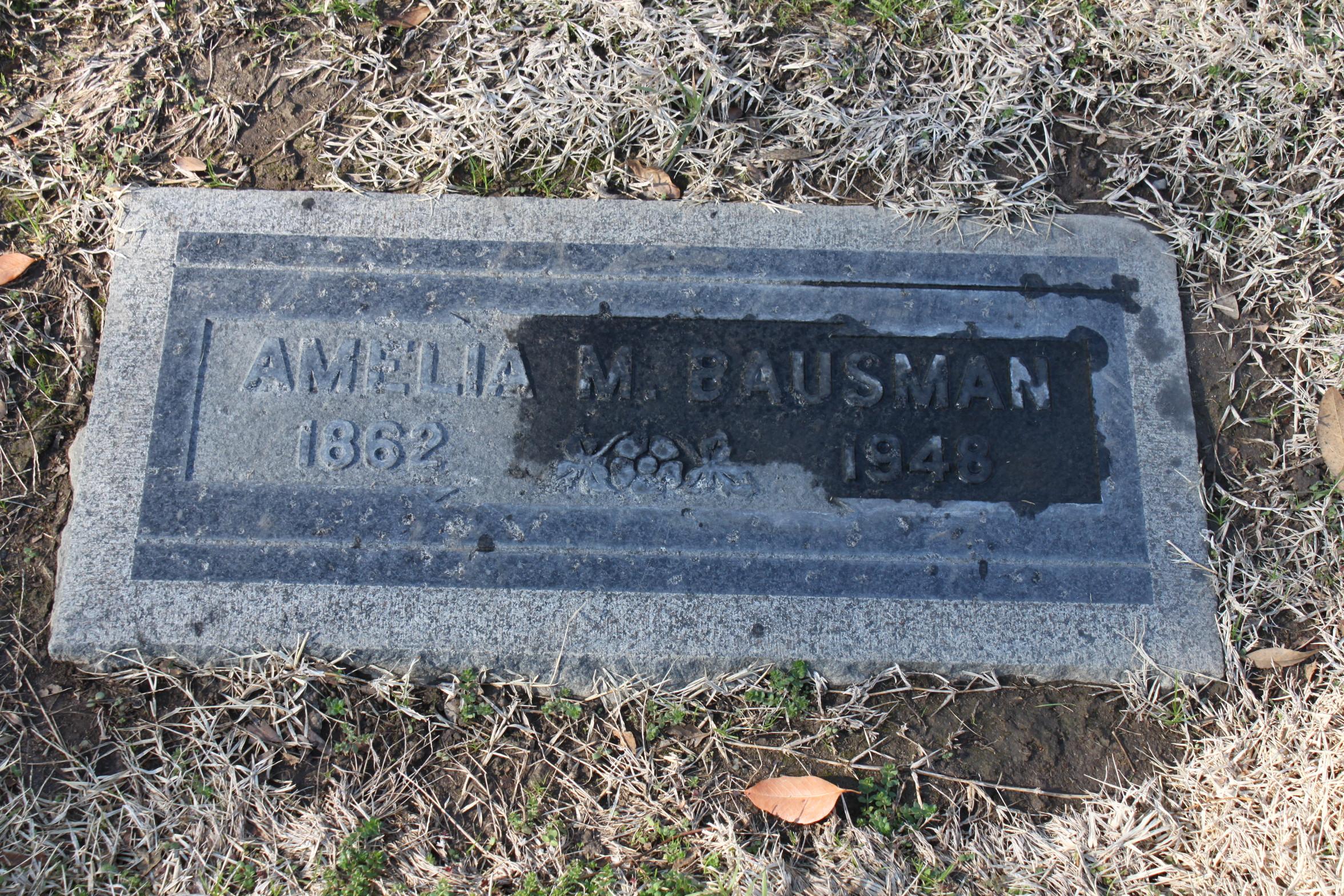 Amelia Mary <i>Baumlaugh</i> Bausman