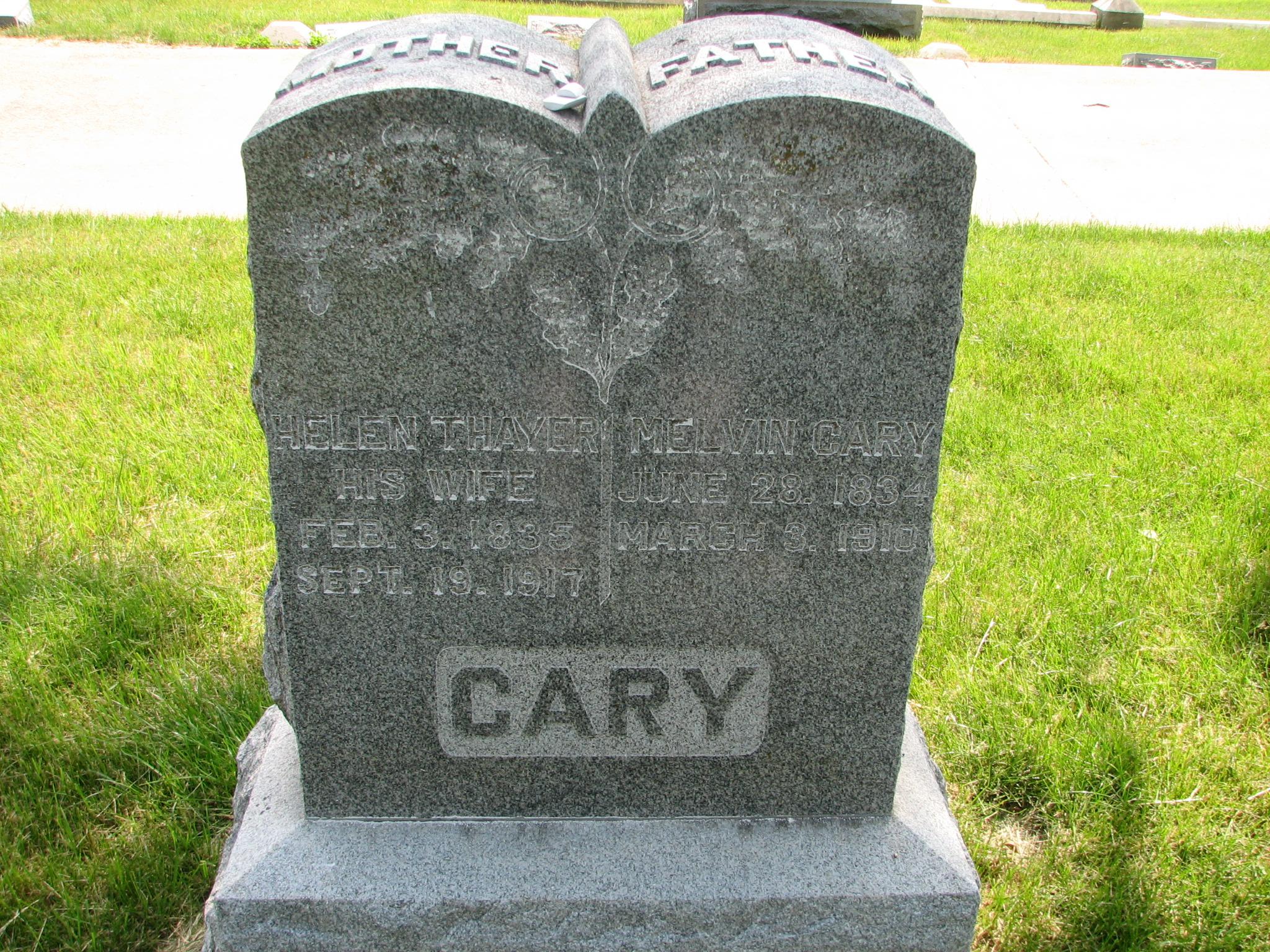 Helen <i>Thayer</i> Cary