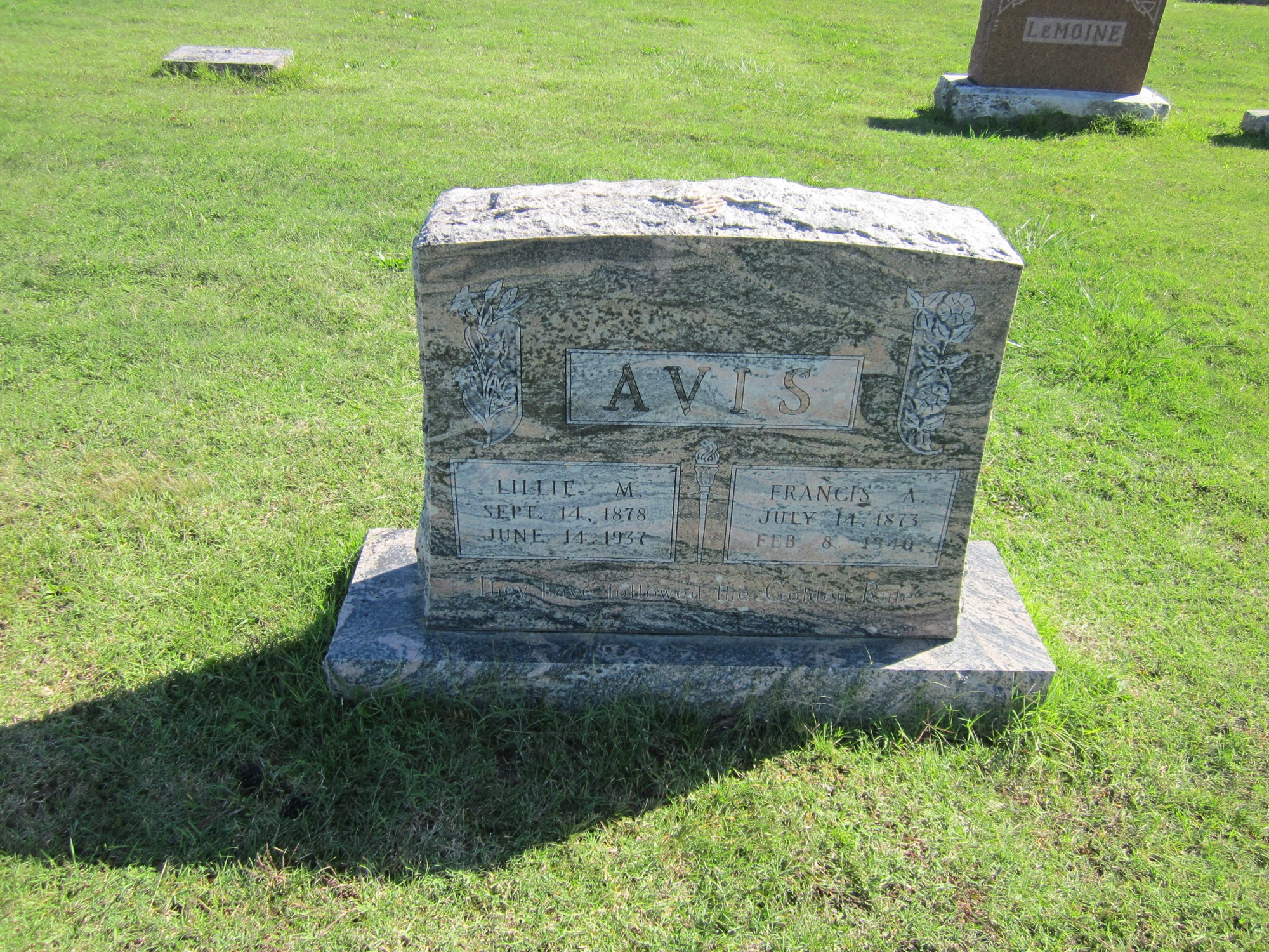 Lillie May <i>Oswald</i> Avis