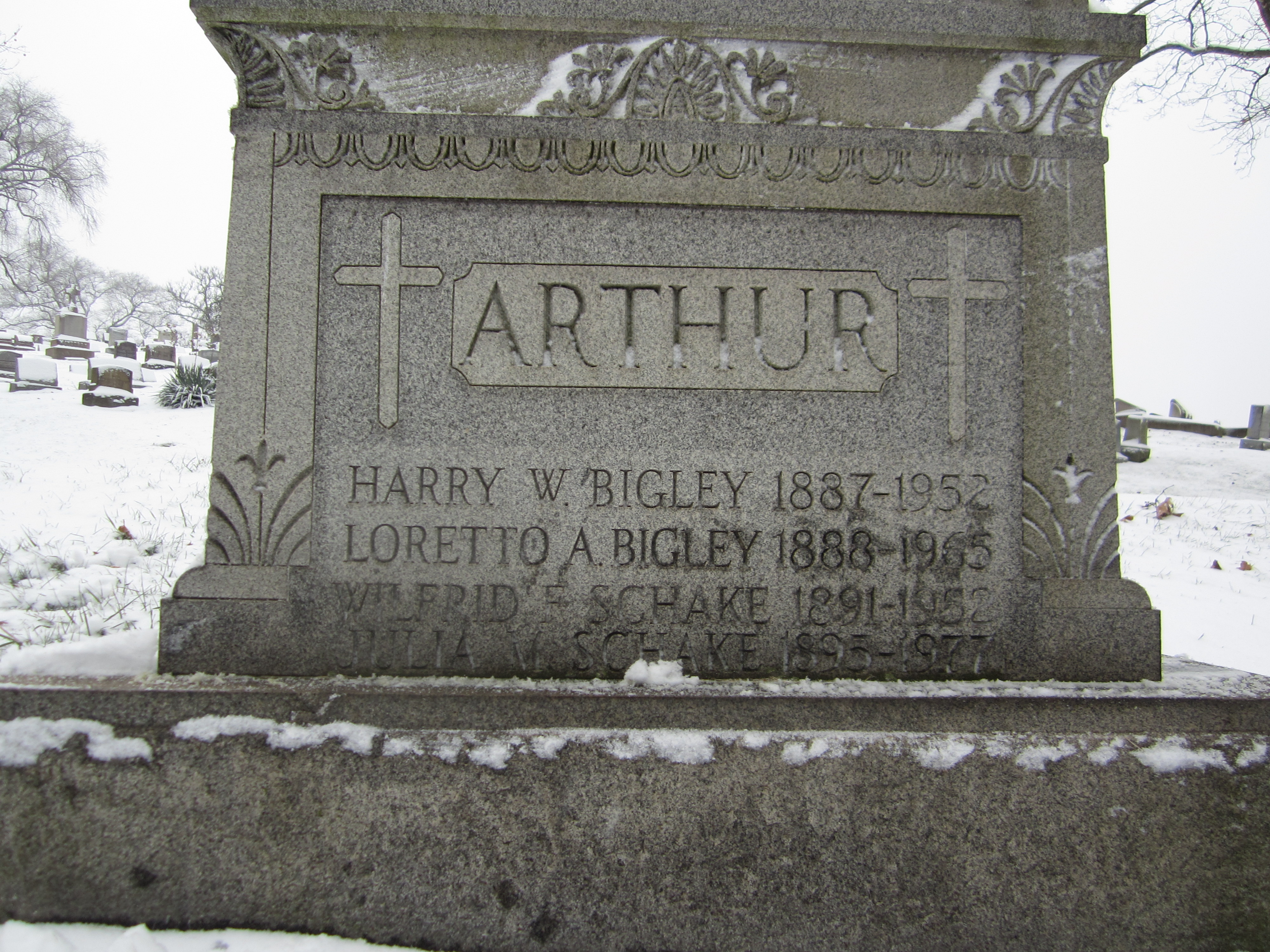Loretto <i>Arthur</i> Bigley