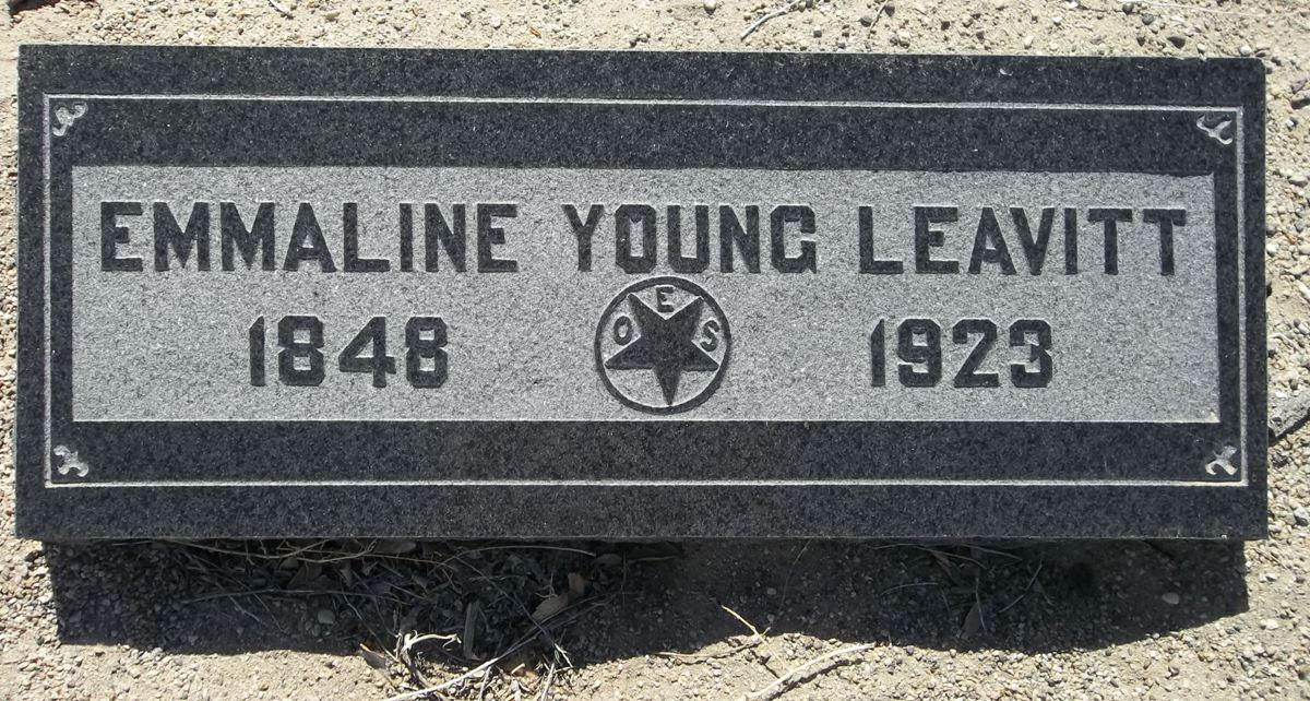 Emmaline <i>Young</i> Leavitt
