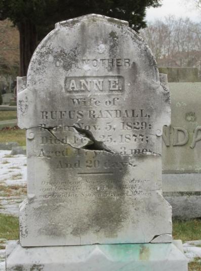 Ann Elizabeth <i>Davis</i> Randall