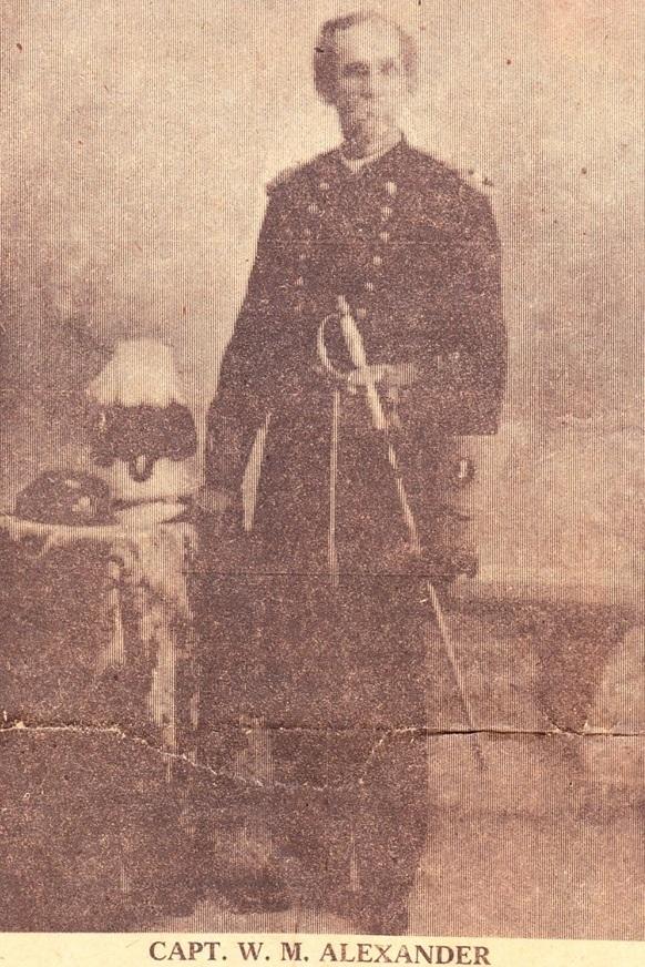 Capt Williamson M. Alexander