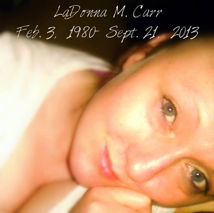 "LaDonna Marie ""La La"" Carr (1980-2013) - Find A Grave Memorial"